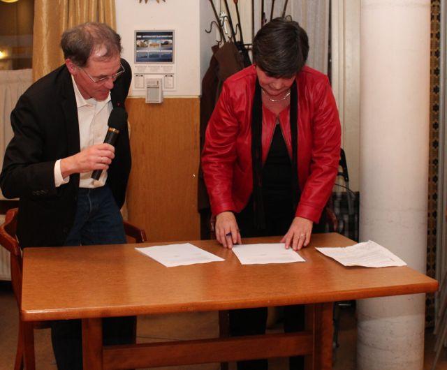 ondertekening